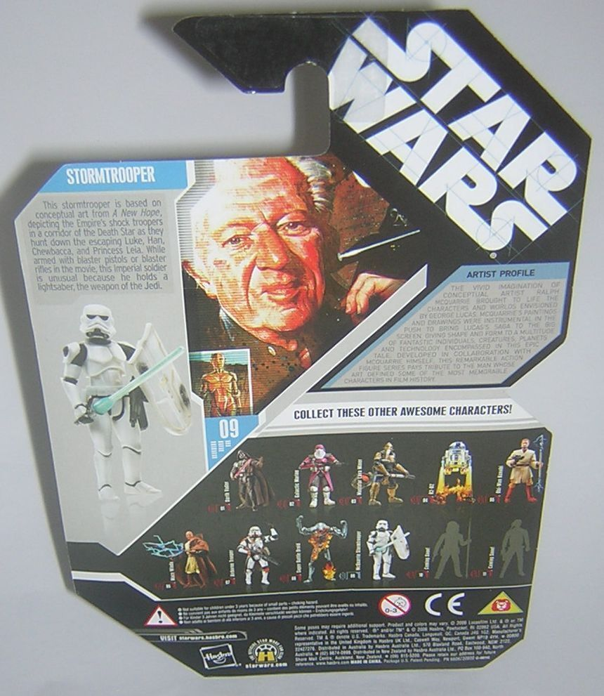 Star Wars 30th Anniversary Anniversary Anniversary TAC UGH Concept McQuarrie Stormtrooper Galactic Hunt 70ae88