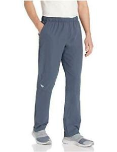 Speedo-Mens-Pants-Full-Length-Tech-Team-Warm-Up-Granite-Size-X-Large-9H0s