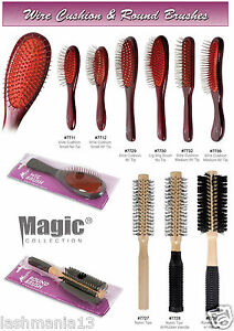 MAGIC COLLECTION WIRE CUSHION & ROUND BRUSHES*BEST QUALITY WITH SPECIAL OFFER *