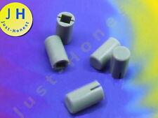 Stk. 5 x Schalterkappen Kappe / Switch cap   5mm x 7mm  Taster  GRAU #A1493