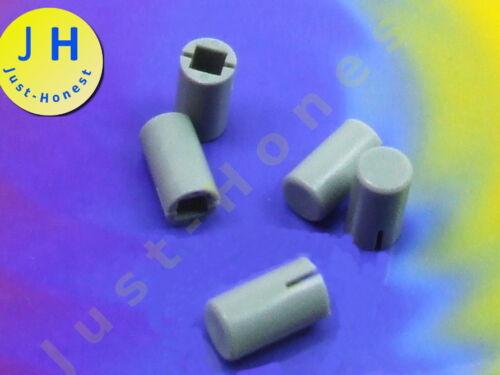 STK 5 x tappi per interruttore Cappuccio//switch cap 5mm x 7mm sonda grigi #a1493