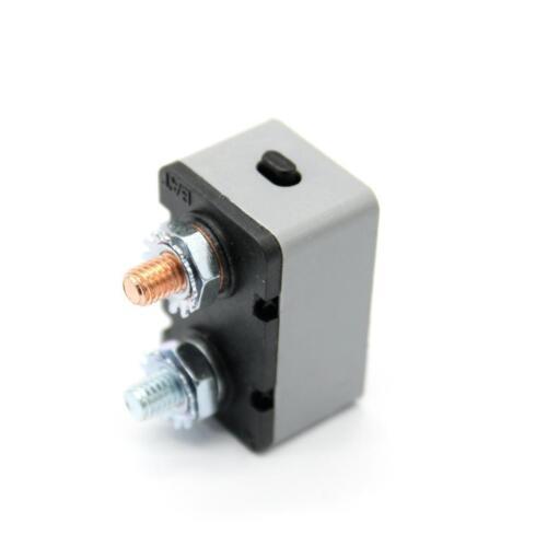 DC12V-24V Car Audio Marine Fuse Holder Circuit Breaker Manual Reset 40AMP