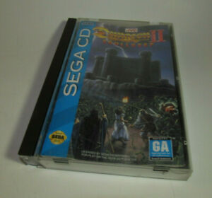 Dungeon-Master-2-II-Skullkeep-Sega-CD-1994-Complete-CIB-Game-Good-Shape