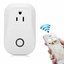 Remote Control Timing Timer Switch WiFi Smart Power Socket Home Outlet US Plug