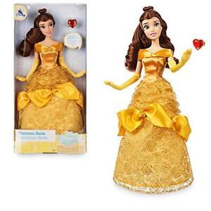 e352d482a6 Image is loading Official-Disney-Store-Princess-Belle-30cm-Classic-Doll-