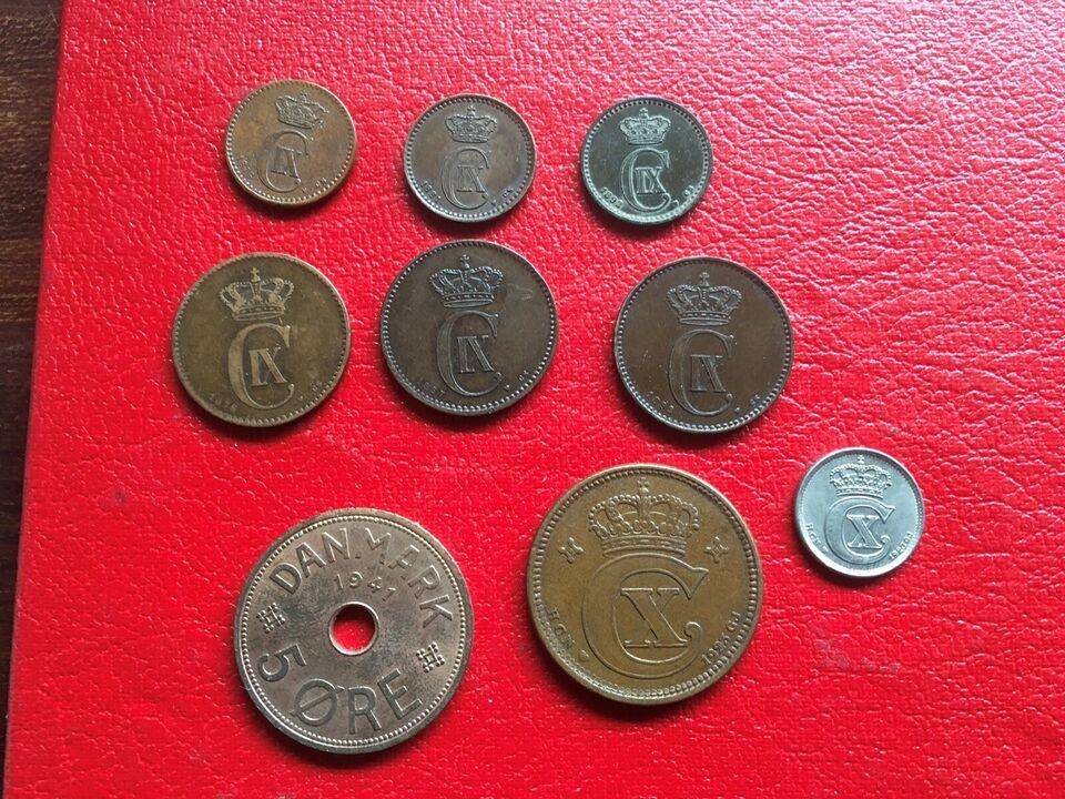 Danmark, mønter, Diverse