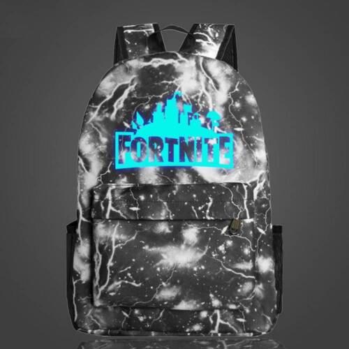 2019 Battle Royale Backpack Rucksack School Bag GLOW IN DARK Pencil CASE Bag UK