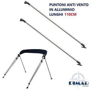 Coppia-di-Puntoni-in-alluminio-25mm-per-tendalino-gommone-barca-lunghezza-110cm