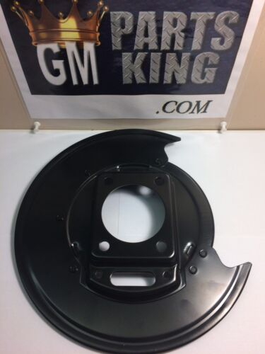 GM OEM-Brake Backing Splash Dust Shield Plate Left 25990085