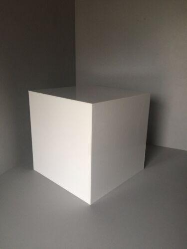 Mostrar extremo abierto de 1 Cubos de 5 Lados Negro O Blanco