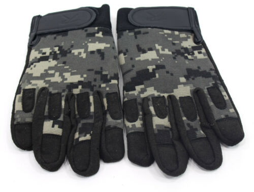 Mens Subdued Urban Digital Camouflage Lightweight All-Purpose Camo Gloves Rothco