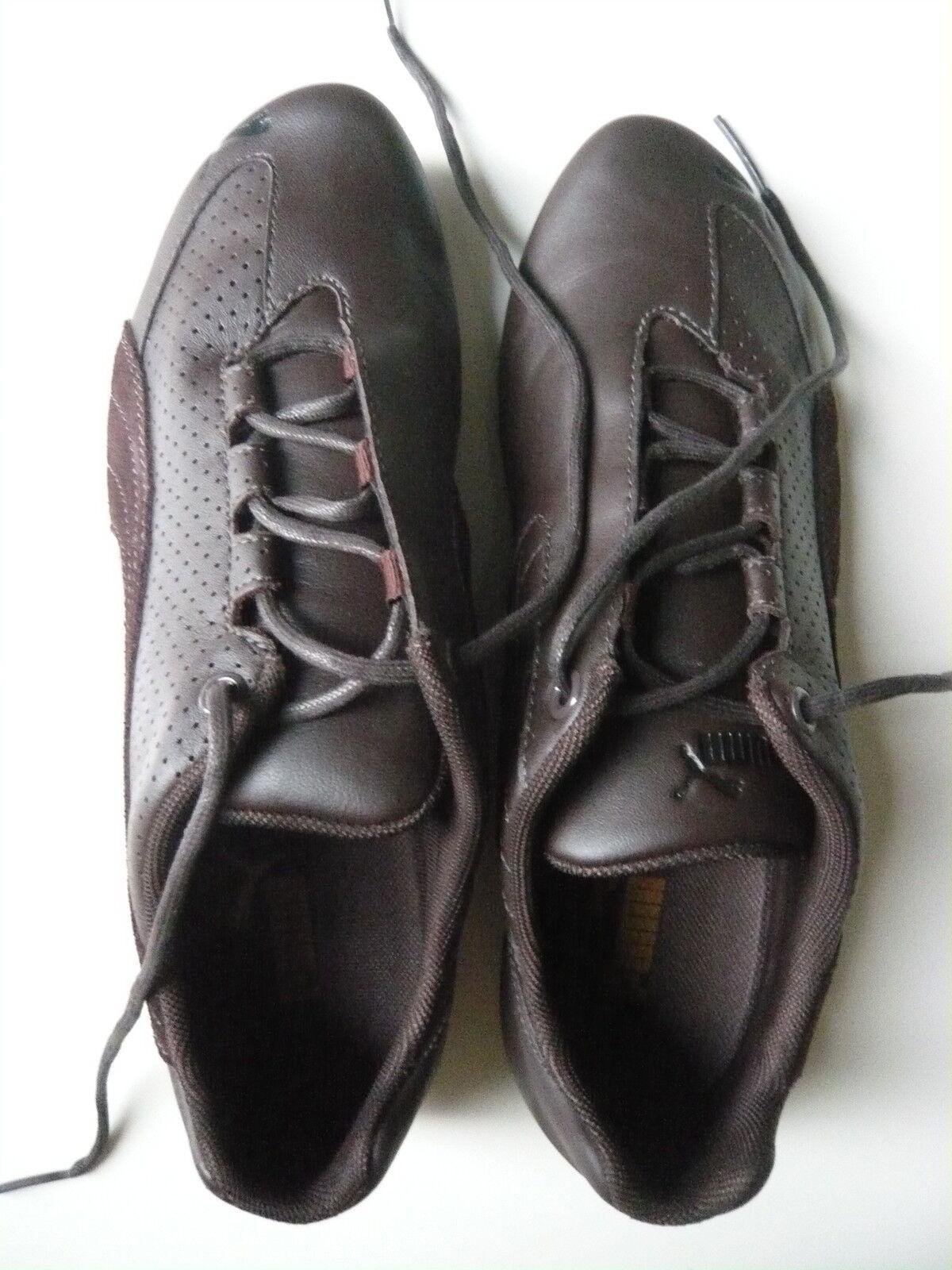 Puma Ferradura L Sneakers Leder braun Gr. Gr. Gr. 39 Schuhe Sportschuhe Freizeitschuhe 527905