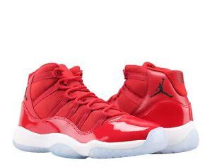 Nike Air Jordan 11 Retro BG Win Like 96 Red Big Kid Basketball Shoes ... 4c6c7657b