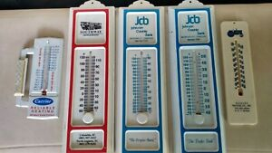 VINTAGE LOT OF ADVERTISING THERMOMETERS NICE! L@@K!!
