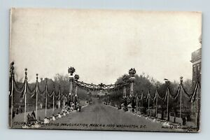 WASHINGTON-D-C-COURT-OF-HONOR-DURING-MARCH-4-1909-INAUGURATION-POSTCARD-A-4