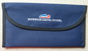 NORWEGIAN COASTAL VOYAGE  BLUE DOCUMENT FOLDERCASE - <span itemprop='availableAtOrFrom'> Wiltshire, United Kingdom</span> - NORWEGIAN COASTAL VOYAGE  BLUE DOCUMENT FOLDERCASE -  Wiltshire, United Kingdom