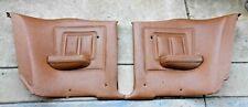 Set Of 1969 1970 Mercury Cougar Xr7 Eliminator Ginger Rear Door Panels