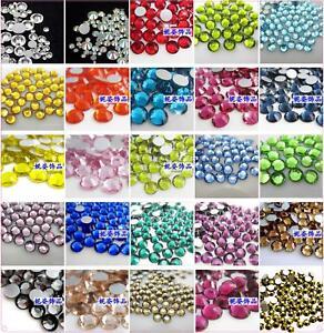 MIXED-SS6-SS20-Crystal-Flat-Back-GLASS-Rhinestones-Diamante-Nail-Art-1440PCS-03