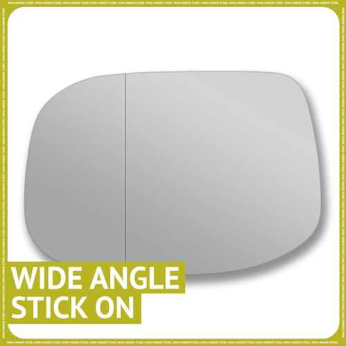 Left hand passenger side for Honda Accord 08-15 wing mirror glass Wide Angle