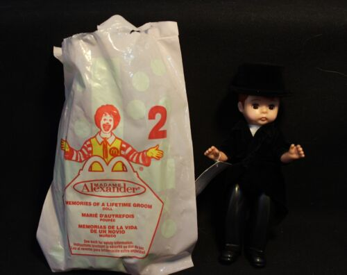 McDonalds Happy Meal Memories of a Lifetime Groom NEW Madame Alexander Doll