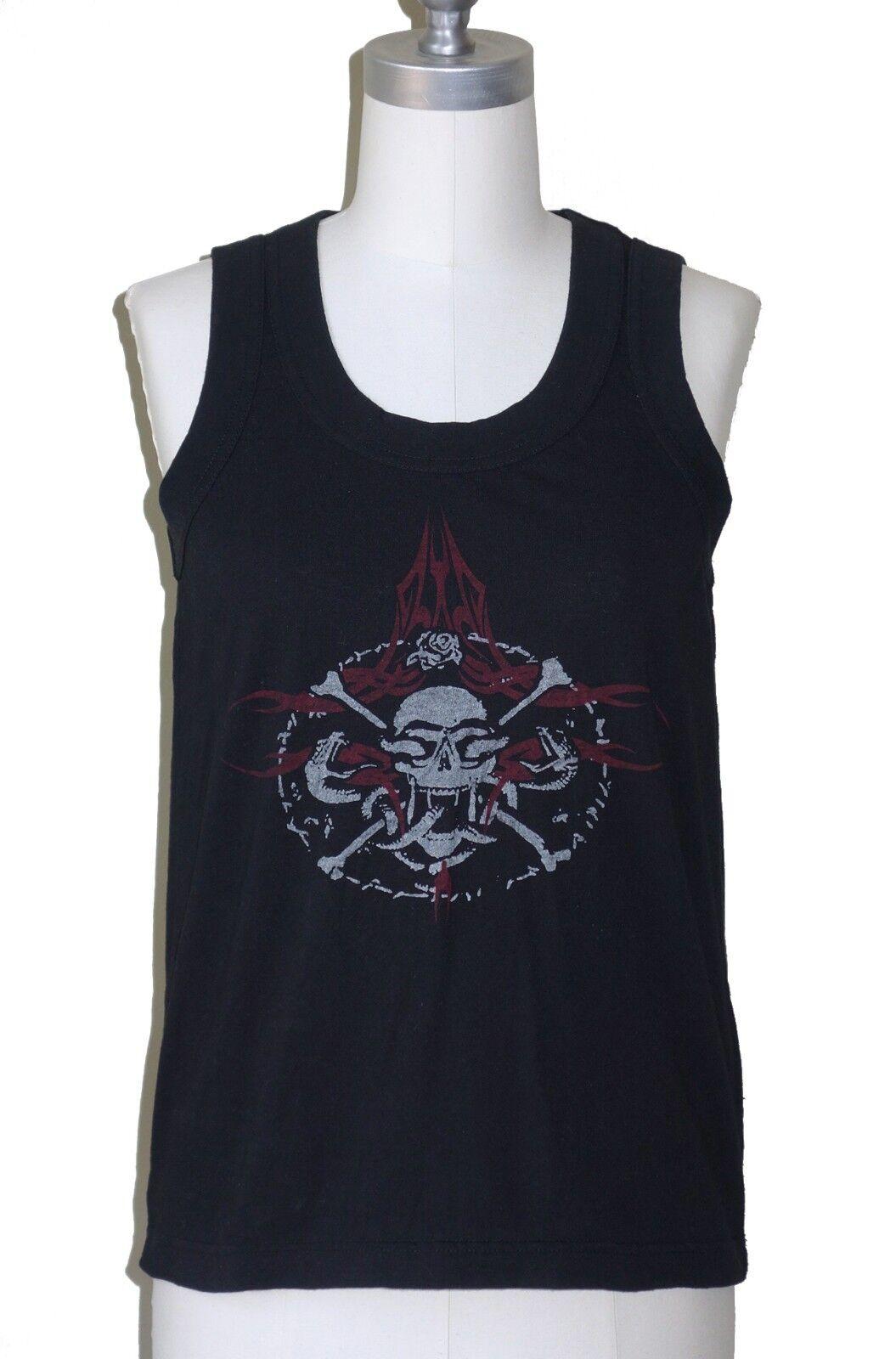 JUNYA WATANABE Comme des Garcons  Skull & Crossbones Print schwarz Tank Top S