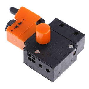 FA2-4//1BEK lock on power electric hand drill speed control trigger switch 250v W
