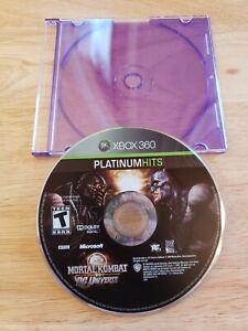 Xbox-360-Mortal-Kombat-vs-DC-Universe-MK-Game-Disc-Microsoft-Fighter-XB