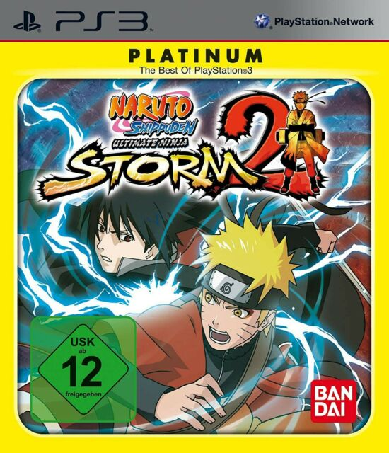 PS3 Naruto Shippuden Ultimate Ninja Storm 2 Platinum ANGLAIS dans l'emballage ut