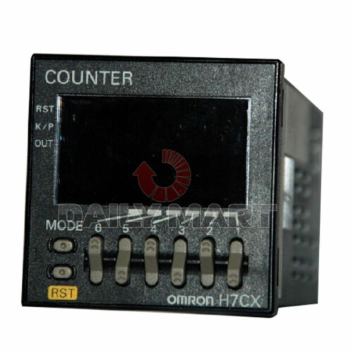 Omron Transistor Output H7CX-A4WSD-N Digital Display Count Table Screw Terminal