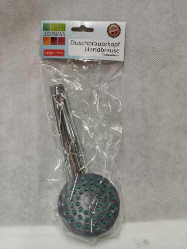 Handbrause 3 Funktionen Duschbrause Brausekopf Duschkopf Wassersparend Chrom