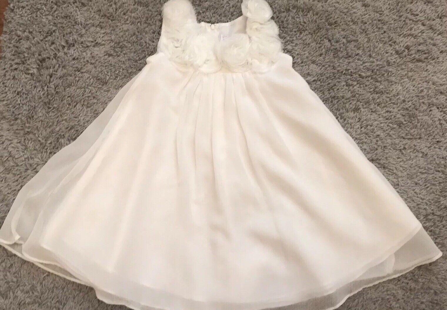 5t Sophia Young Design Limited Ivory Formal Dress Flower Girl
