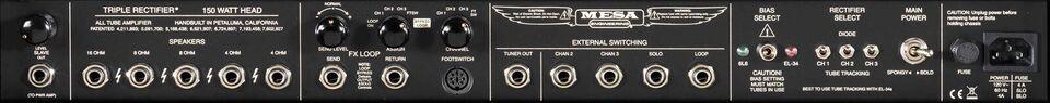 Guitarforstærker, Mesa Boogie Triple Rectifier, 150 W