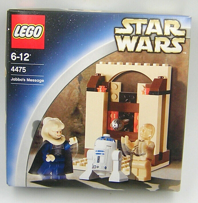 Star Wars Lego 4475 Jabba's Message ( Sealed MIB )