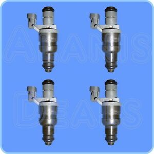 New-GM-12565474-Multi-Port-Fuel-Injector-Set-4-For-Cavalier-Grand-AM-Saturn