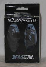 marvel glassware set x-men x2 neca