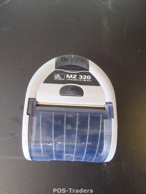 Zebra MZ320 Bluetooth Mobile Label Ticket Thermal Printer Drucker EX BATT NO PSU