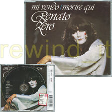"""RENATO ZERO """"MI VENDO / MORIRE QUI"""" RARO CDsingolo PICTURE DISC"""