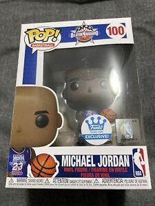 Funko PoP! Basketball #100 NBA MICHAEL JORDAN ALL-STAR Funko Shop Exclusive