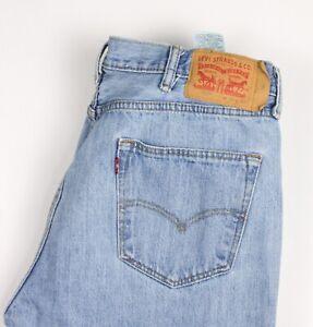 Levi's Strauss & Co Herren 501 Gerades Bein Jeans Größe W38 L32 BCZ993