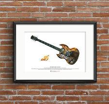 Tony Iommi's Jaydee 'Old Boy' ART POSTER A3 size