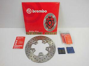 Brembo Bremsscheibe + Bremsbeläge Bremse hinten Suzuki GSX 600 750 1200 F FU