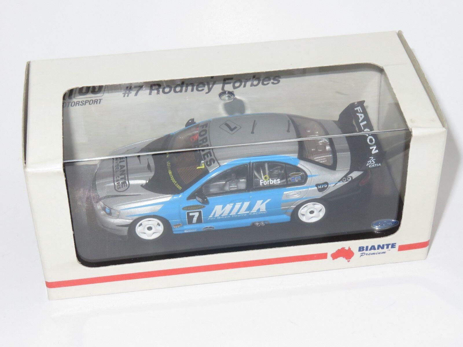 1/43 FORD BA Falcon XR8 00 Motorsport 2003 Australiano V8 SUPERCAR Rodney Forbes