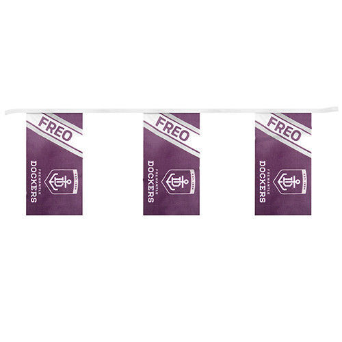 Freemantle-Dockers-AFL-Bunting-5-Meters-Bunting-fast-shipping