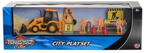 Teamsterz Ciudad Conjunto de Juego Juguete Figura de elección de Skip Digger Inc o camión de basura NUEVO