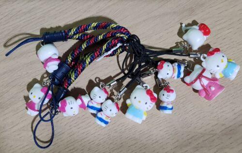 HELLO KITTY DS MOBILE PHONE BAG CHARM UK GIFT VARIOUS Brand New