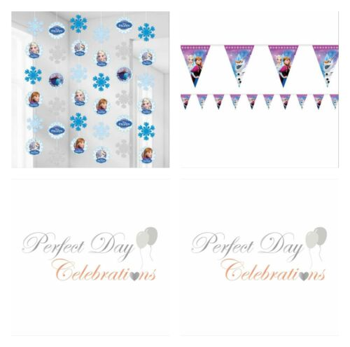 Frozen Party Banner Bunting String Decoration Disney
