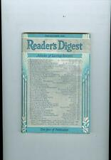 1942 Reader's Digest Magazine: How Strong is Japan/The French Underground/G-Men