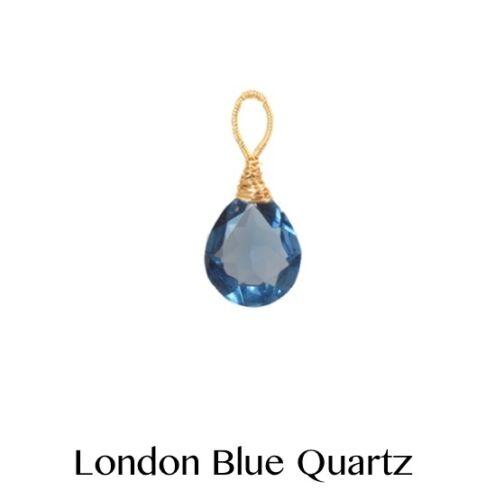 Palawan Quartz Pendant ~ Necklace Pendant with Metal Finish Choice