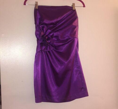 Jessica McClintock bridal purple dress size 8 Wom… - image 1