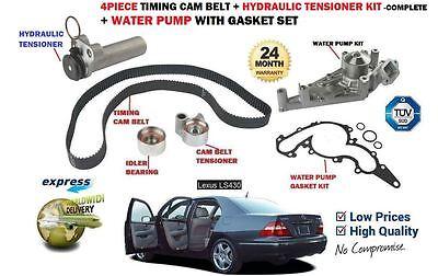 GASKET FOR LEXUS LS430 2000-/>COMPLETE TIMING CAM TENSIONER BELT KIT WATER PUMP